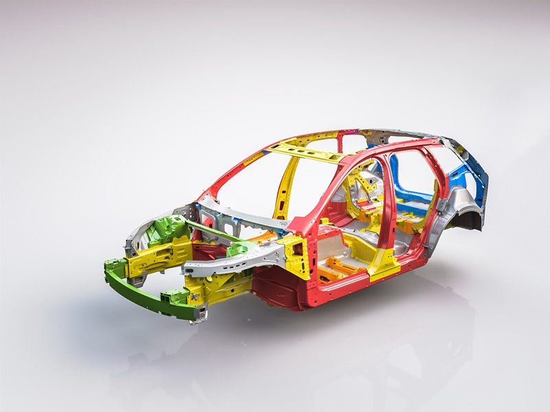 The new Volvo XC60 Body structure